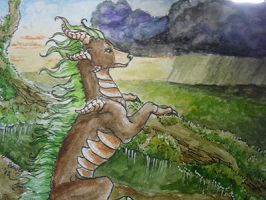 ACEO Agaave's Bryophyte by NakaseArt