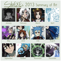 2013 Summary of Art by SlurEXE