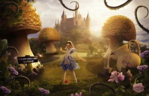Alice In Wonderland by ElementOfOne1