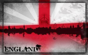 Flag of England by evionn