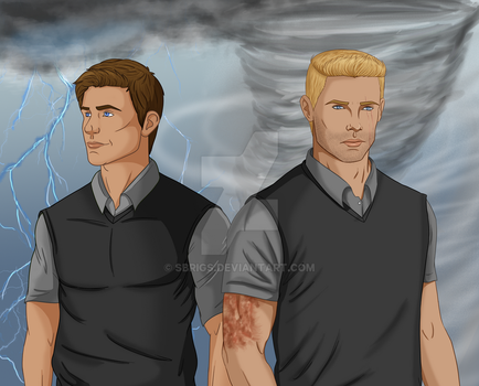 The Boys of Lightning and Thunder by sbrigs