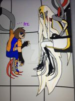 Hi arnt you GLaD to see me GLaDOS... No by Victor82955