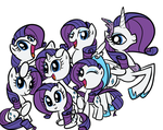 My Little Rarity: Rarity is Rarity by Elslowmo