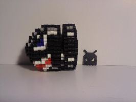 Bullet Bill (Business card Holder) by VoxelPerlers
