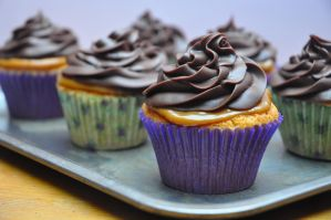 Millionaire Cupcakes. by ladyatropos