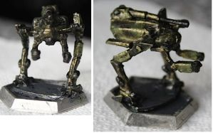 Battletech Hussar Paintjob by KittyHMommy