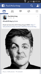 Paul McCartney REALLY posted my drawing on FB!!!! by Macca4ever