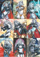 Lady Death 2 Sketch Cards 01 by Celestial4ever