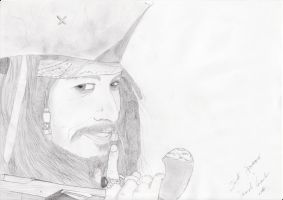 Jack Sparrow portrait by casu90