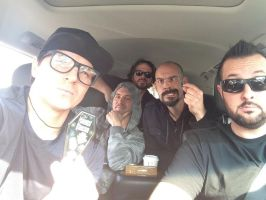 Zak in nerd glasses, Nick being gangster, etc.... by MJandGhostAdventures