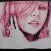 chloe moretz drawing by can727