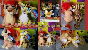 Disney Junior The Lion Guard Kion and Fuli 6in by Vesperwolfy87