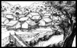 BG trial_village by lotusbiru