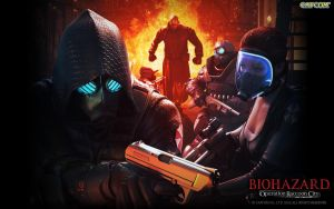 Resident Evil Operation Raccoon City Wallpaper by VIOLET-2010