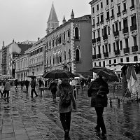VENICE IN THE RAIN by CorazondeDios