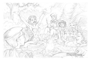Wonder Camp Pencils by LostonWallace