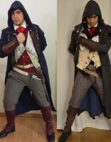 Assassins Creed Unity  Arno Dorian Cosplays WIP 5 by KADArt-Cosplay