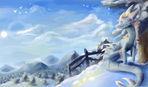 AT Snow drowned *speedpaint added* by Mearow