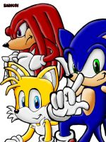 Sonic Heroes Team Sonic by Sad1c01
