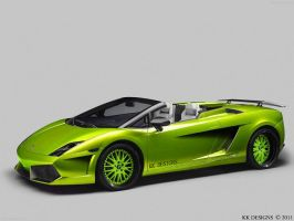 Lamborghini Gallardo LP550-2 by KKdesigns1