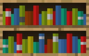 Minecraft Bookcase Wallpaper by LynchMob10-09