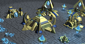 Protoss Buildings 2 by Pixel-Sage