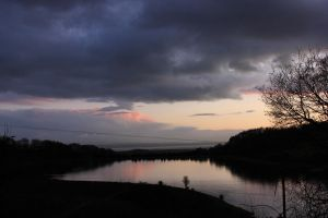 Wentwood Lake Sunset by ThefortyfifthWord