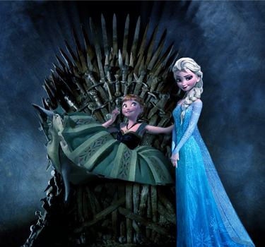 Anna and Elsa: Game of Thrones by Dragoon23