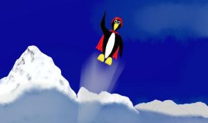 Penguins can Fly by rb5374