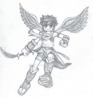 Kid Icarus - Pit by Kidtendo