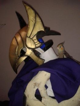 Azir helmet painted by NereaGOTHIC