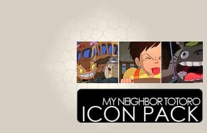my neighbor totoro icon pack by Sara-Devestation
