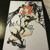 Mary Jane/Venom by Ray-D-Sauce