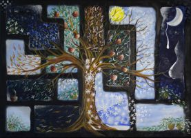 a year with a tree by mohitaheri