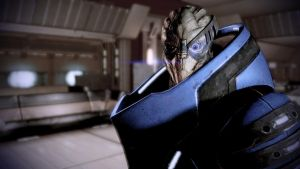 Garrus on Omega - Mass Effect 2 by loraine95