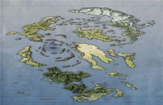 Archipelago World Map by torstan