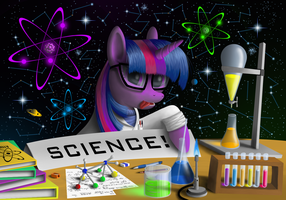 SCIENCE! (Updated with background) by Duskie-06