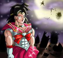 Sailor Broly Color by ShynTheTruth