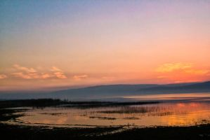 Last light on the lake by ShlomitMessica