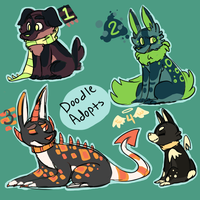 [CLOSED]Doodle Adopts [AUCTION] by QuirkyAdopts
