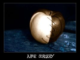 Apple surgery - Last one by morganaarau