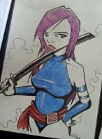 Psylocke FCBD2014 by kaicastle