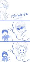 How is Rivaille's Smile by Kira-Ayaka