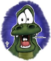 Croc (Re-draw) by vonholdt