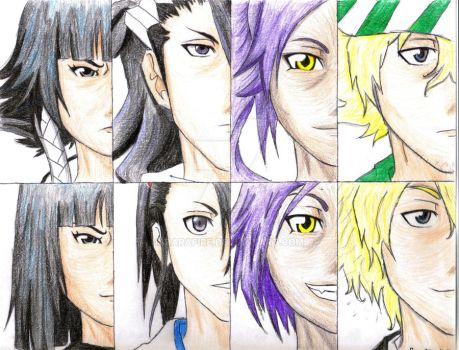 Bleach: Now and Before 2 by DaraFire