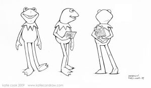 kermit turnaround by katiecandraw