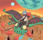 Rick And Morty interdimensionally dysfunctional en by Space-khD