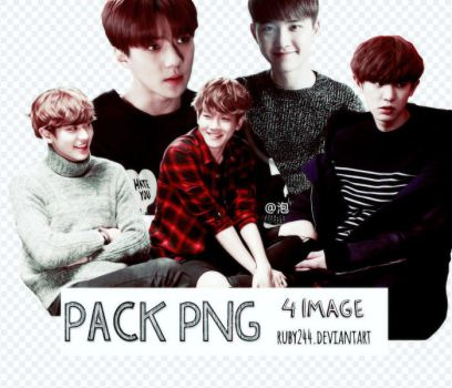PNG PACK EXO NEXT DOOR by Ruby244