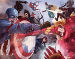 Captain America- Civil War by ymhuang0817