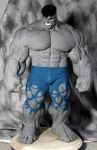 Dale Keown Hulk Statue by sup3rs3d3d